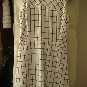 J. Crew Dresses - Wool windowpane dress